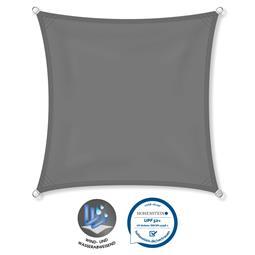 CelinaSun Sonnensegel PES UPF 50+ UV-Schutz wasserabweisend Quadrat 2,6x2,6 anthrazit