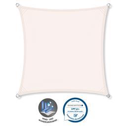 CelinaSun Sonnensegel PES UPF 50+ UV-Schutz wasserabweisend Quadrat 2,6x2,6 weiß