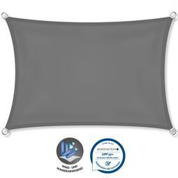 CelinaSun Sonnensegel PES UPF 50+ UV-Schutz wasserabweisend Rechteck 2x4 anthrazit