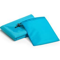CelinaSun Picknickdecke PES ultraleicht Hosentaschenformat 200x200 blau