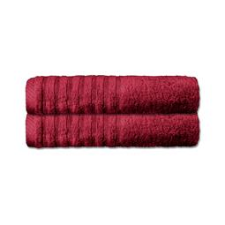 CelinaTex Handtuch Baumwolle Frottee Pisa bordeaux 50x100