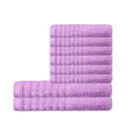 CelinaTex Handtuchset Baumwolle Frottee Pisa flieder 6x 50x100 + 2x 70x140