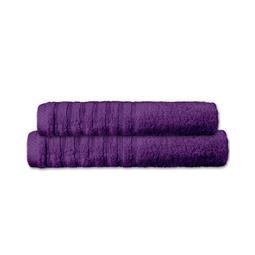 CelinaTex Handtuchset Baumwolle Frottee Pisa lila 1x 70x140 + 1x 80x200