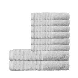 CelinaTex Handtuchset Baumwolle Frottee Pisa silbergrau 6x 50x100 + 2x 70x140