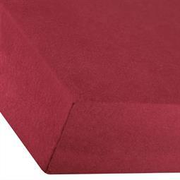 Spannbettlaken Baumwolle Premium 180x200-200x220 bordeaux rot