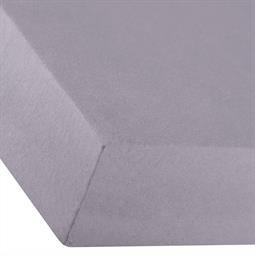 Spannbettlaken Baumwolle Premium 180x200-200x220 dunkel grau