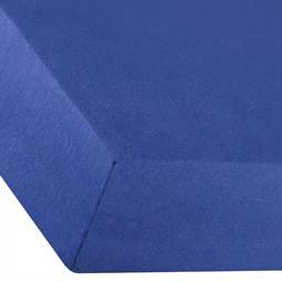 Spannbettlaken Baumwolle Premium 180x200-200x220 royal blau