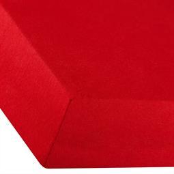 Spannbettlaken Baumwolle Premium 180x200-200x220 rubin rot