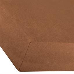 Spannbettlaken Baumwolle Premium 180x200-200x220 schoko braun