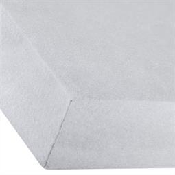 Spannbettlaken Baumwolle Premium 180x200-200x220 silber grau