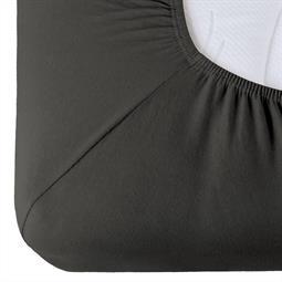 Spannbettlaken Baumwolle Relax anthrazit 180x200 - 200x220