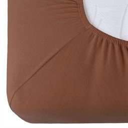 Spannbettlaken Baumwolle Relax Doppelpack kastanie braun 90x200 - 100x220