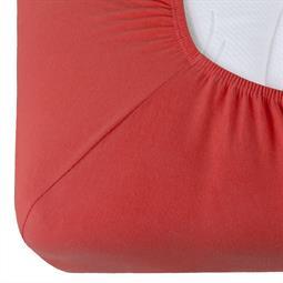 Spannbettlaken Baumwolle Relax Doppelpack kirsch rot 90x200 - 100x220