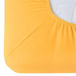Spannbettlaken Baumwolle Relax mais gelb 180x200 - 200x220