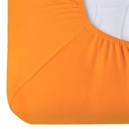 Spannbettlaken Baumwolle Relax orange 180x200 - 200x220