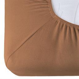 Spannbettlaken Baumwolle Relax Doppelpack schoko braun 90x200 - 100x220