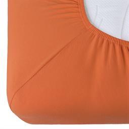 Spannbettlaken Baumwolle Relax Doppelpack terracotta 90x200 - 100x220