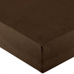 Spannbettlaken Wasserbett Jersey Royal XL 200x220-220x240 cm dunkel braun