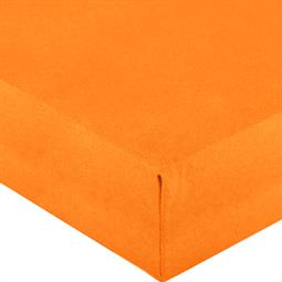 Spannbettlaken Wasserbett Jersey Royal Rund 245 cm orange