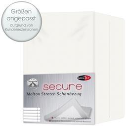 Secure Schonbezug Molton Stretch 200x200 - 200x220 Allergiker