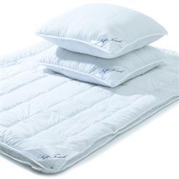 aqua-textil Steppbett 4 Jahreszeitendecke Soft Touch 200x200 mit 2x Kissen 80x80 Mikrofaser