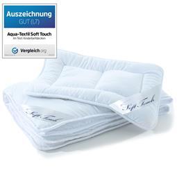 aqua-textil Kindersteppbett Kids Set Mikrofaser Soft Touch Bettdecke 100x135 cm mit Flachkissen 40x60 cm