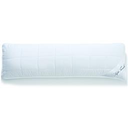 aqua-textil Seitenschläferkissen Reißverschluss Soft Touch Mikrofaser 40x120