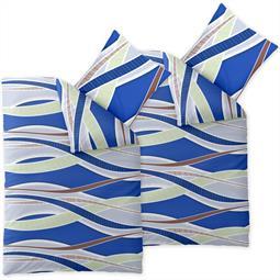 Bettwäsche Garnitur Baumwolle Satin Spirit Joana Doppelpack 135x200