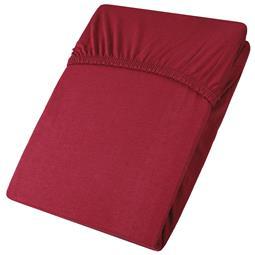 aqua-textil Spannbettlaken Baumwolle Jersey Viana 140x200-160x200 bordeaux