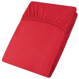 aqua-textil Spannbettlaken Baumwolle Jersey Viana 90x200-100x200 rot
