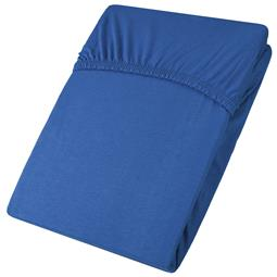 aqua-textil Spannbettlaken Baumwolle Jersey Viana 90x200-100x200 royalblau