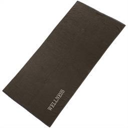 aqua-textil Saunatuch Frottee Uni Wellness XXL 90x220 anthrazit
