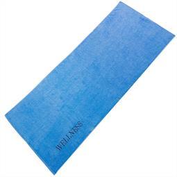 aqua-textil Saunatuch Frottee Uni Wellness 80x200 blau