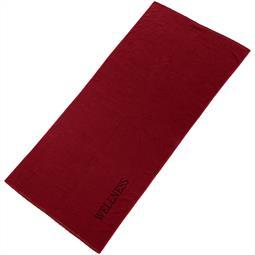 aqua-textil Saunatuch Frottee Uni Wellness XXL 90x220 bordeaux