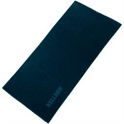 aqua-textil Saunatuch Frottee Uni Wellness XXL 90x220 dunkelblau
