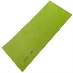 Saunatuch Frottee Uni Wellness 80x200 grün