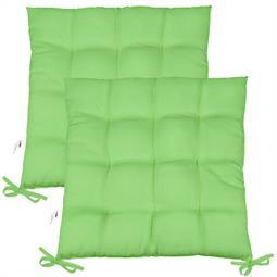 Sitzkissen Sitzauflage Yoyo 40x40 grün Doppelpack