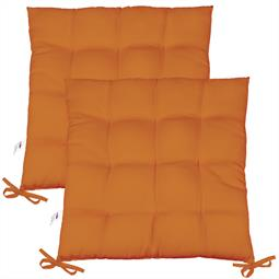 Sitzkissen Sitzauflage Yoyo 40x40 orange Doppelpack