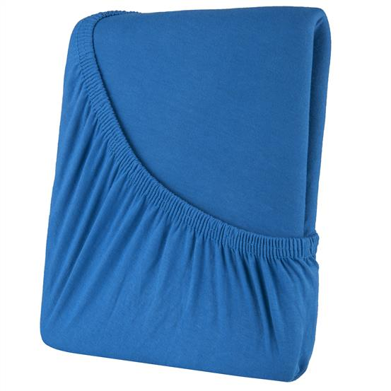 spannbettlaken baumwolle 140x200 high line royalblau heimtextilien und. Black Bedroom Furniture Sets. Home Design Ideas