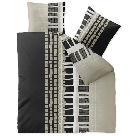 bettw sche garnitur bettbezug winter fleece 200x200 rei verschluss oekotex style ebay. Black Bedroom Furniture Sets. Home Design Ideas