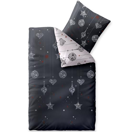 bettw sche garnitur winter biber baumwolle 155x220 warm. Black Bedroom Furniture Sets. Home Design Ideas